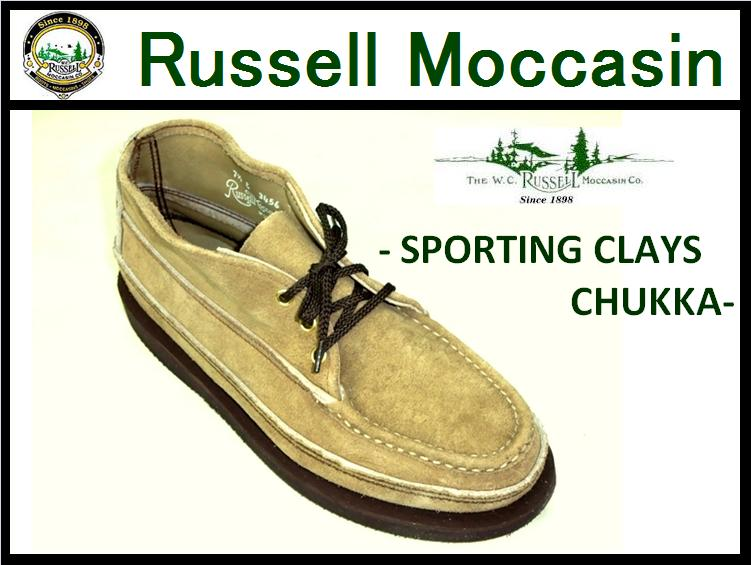 ��RUSSELL MOCCASIN/��å���⥫�����<br>-Sporting Clays Chukka- <br>LARAMIE SUEDE